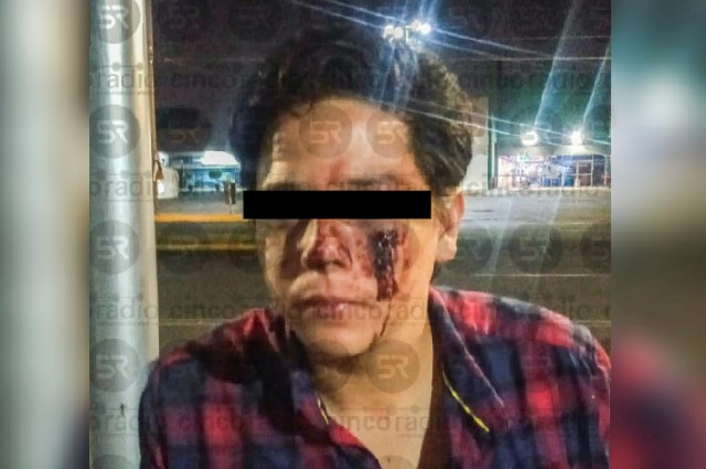 Ahora policías auxiliares golpean a turista de Cancún en la CAPU