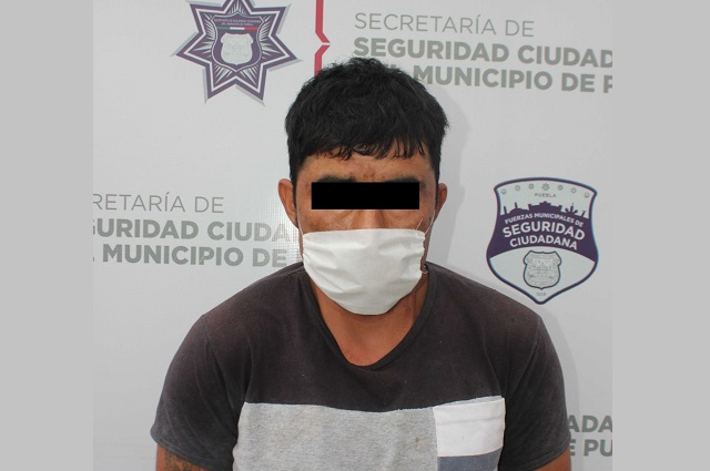 Por robo a negocio detienen a un hombre en Totimehuacán