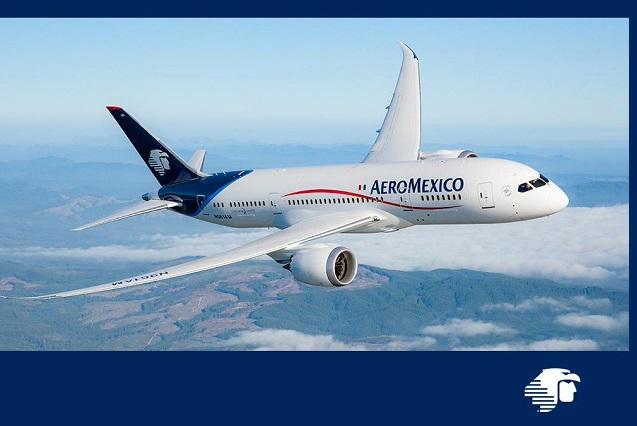 Esto dice Aeroméxico del retraso del vuelo por exfuncionaria