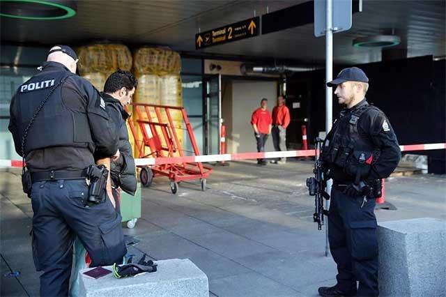 Desalojan aeropuerto en Dinamarca por supuesta amenaza de bomba