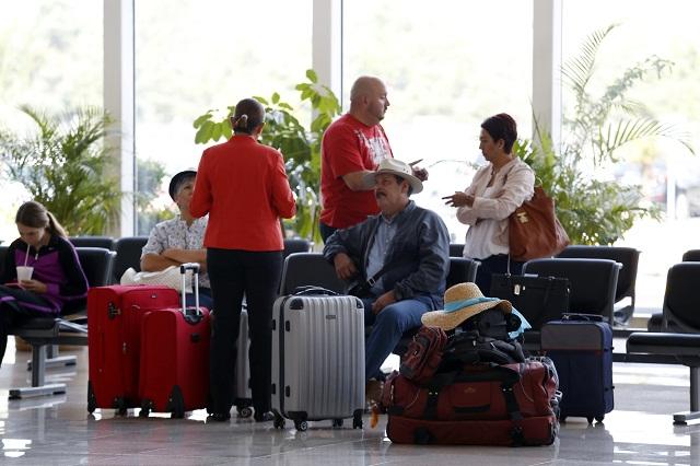 Aumenta 38.6 % cifra de pasajeros en el Aeropuerto de Puebla