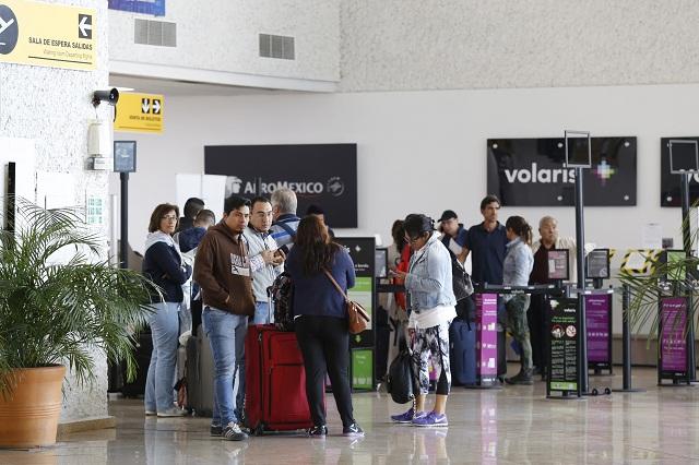 Aeropuerto de Puebla aumenta afluencia de pasajeros y carga