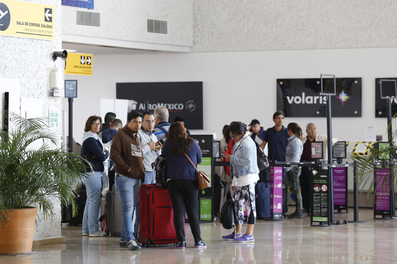 Aeropuerto de Puebla aumenta 36.8%  movimiento de pasajeros