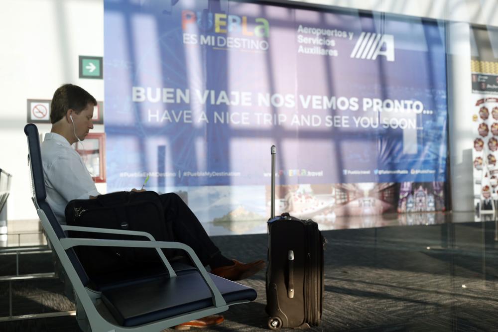 Aeropuerto de Puebla incrementa   afluencia de pasajeros en 33.9%