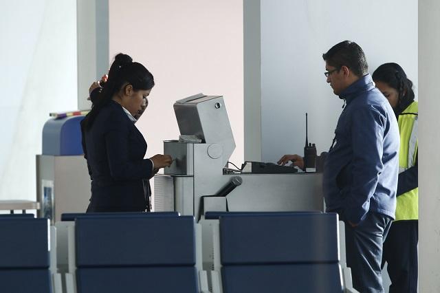 Traslado de pasajeros aumentó 37 % en aeropuerto de Puebla