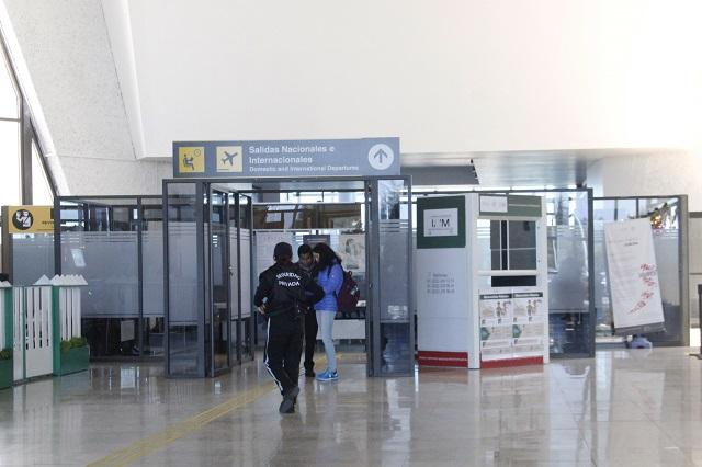 Hasta septiembre prevén reanudar vuelo Puebla-Houston