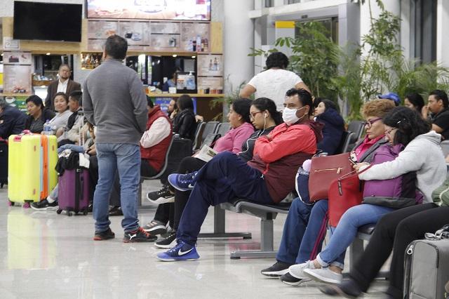 Durante un mes suspenden el vuelo Puebla-Houston