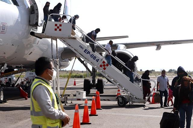 Prevén 35 mil pasajeros al mes en aeropuerto de Puebla al cierre de 2020