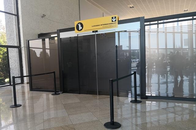 Sin medidas sanitarias Aeropuerto de Huejotzingo ante Covid-19