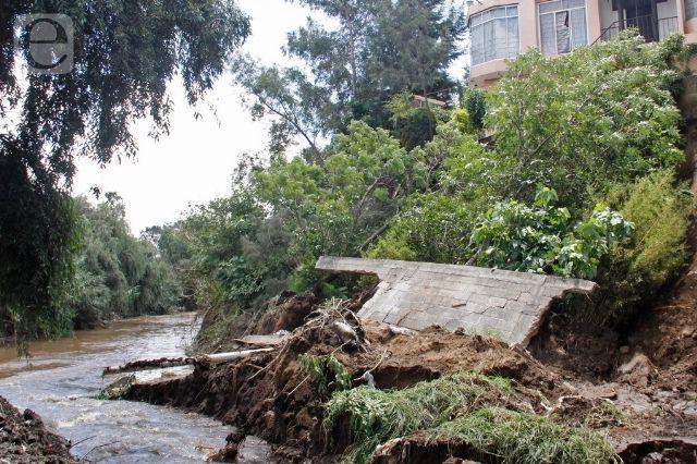SEGOB reporta afectaciones por lluvias en tres municipios