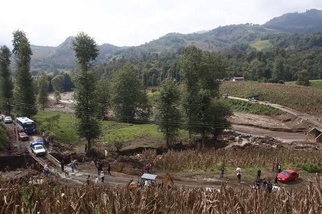 Aseguradas 7 mil hectáreas de cultivos dañados por Earl, reporta Sagarpa