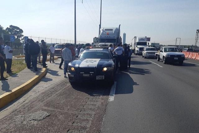 Protestas de la AMOTAC en Puebla no afectarán la México-Veracruz