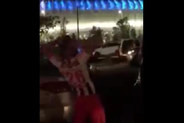 Video de aficionado de Monterrey ebrio y haciendo berrinche se hace viral