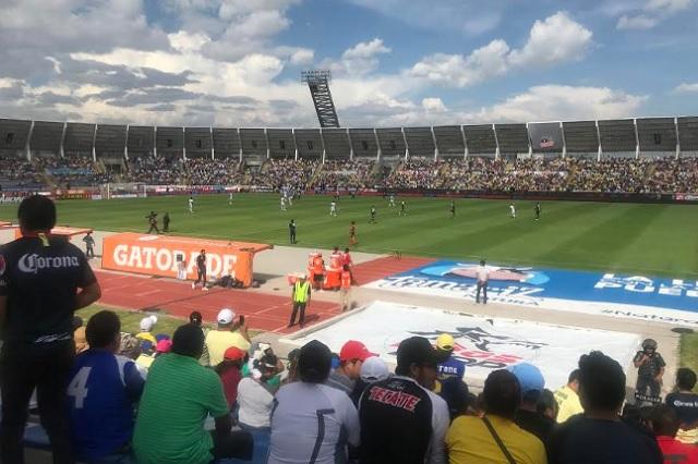 Menos de 10 mil aficionados llegaron al Puebla-Monterrey