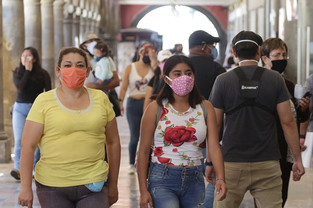 Ahogan a Puebla cifras de Covid: 381 nuevos casos y 27 muertos