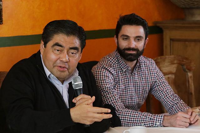 Meade ya pactó dejarle Puebla a Moreno Valle, señala Barbosa
