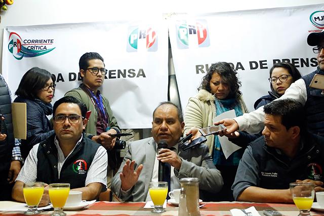 Corriente Crítica del PRI quiere de candidatos a Doger y a Deloya