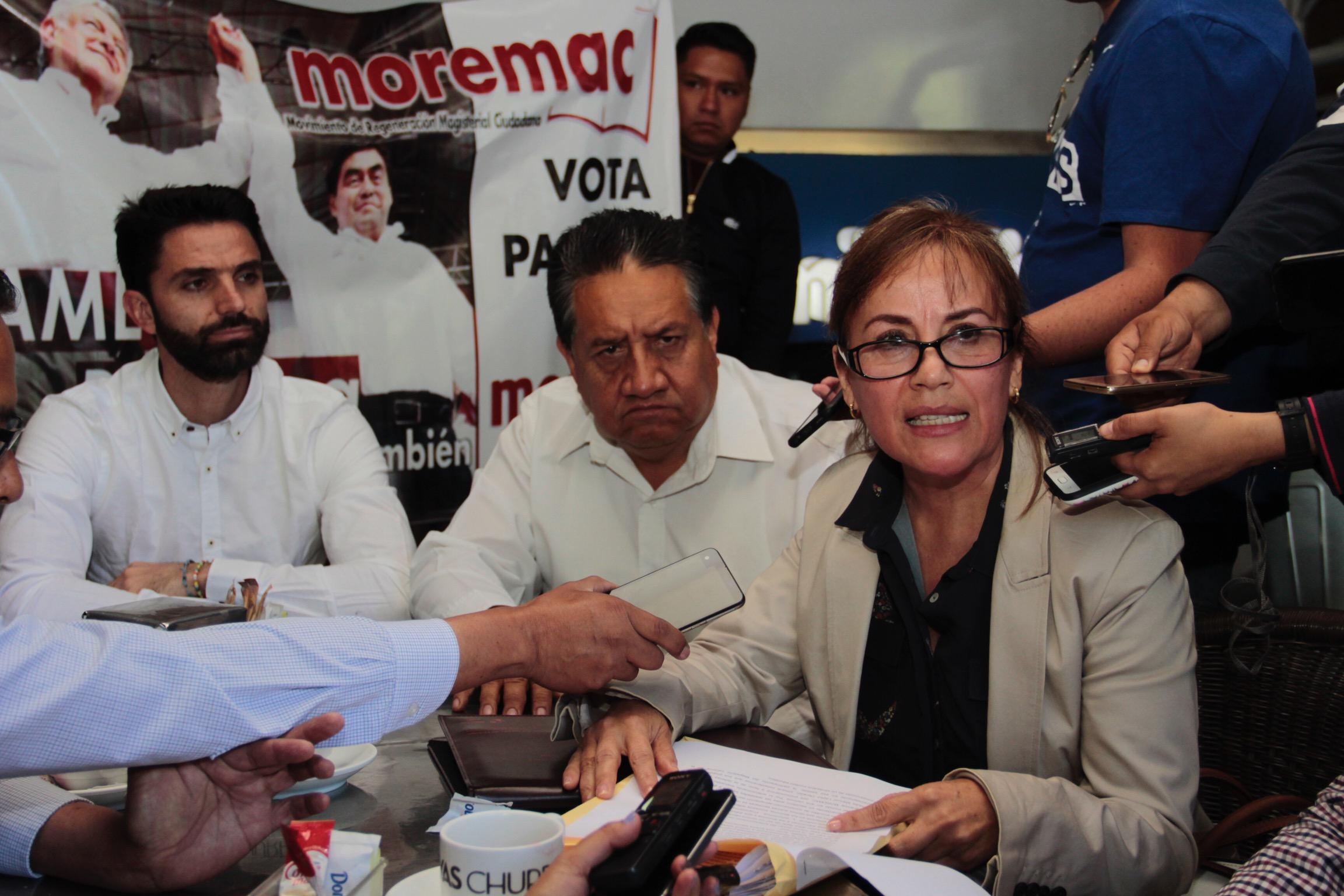 Votarán por AMLO 3 de cada 4 maestros en Puebla, aseveran