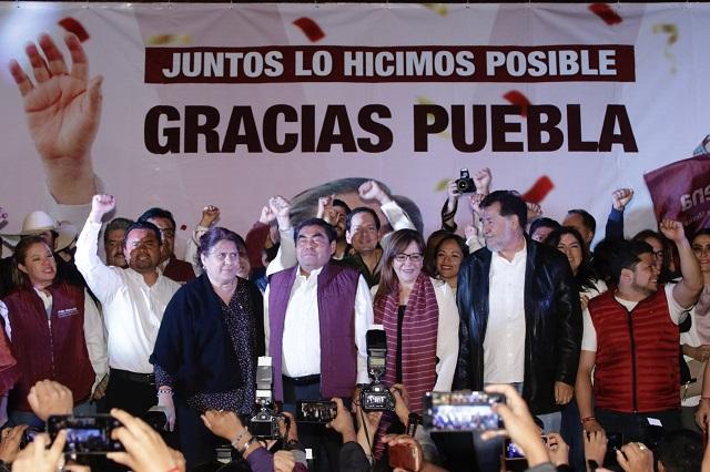 Es oficial: el INE pone a Barbosa como gobernador de Puebla