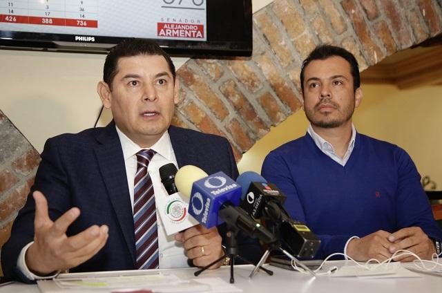 Armenta sugiere a Rivera usar sentido común ante críticas a su gestión