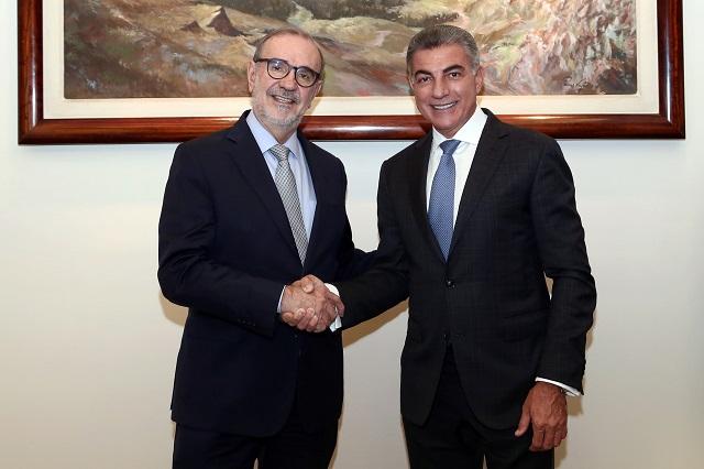 Gali y Relaciones Exteriores mantienen agenda común