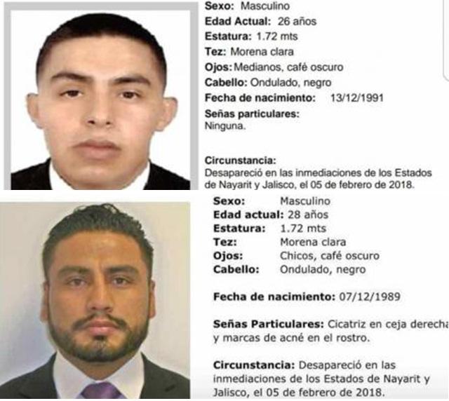 Detienen en Puerto Vallarta a presuntos asesinos de agentes de la SEIDO por orden del CJNG, entre ellos varios policias Agentes_0