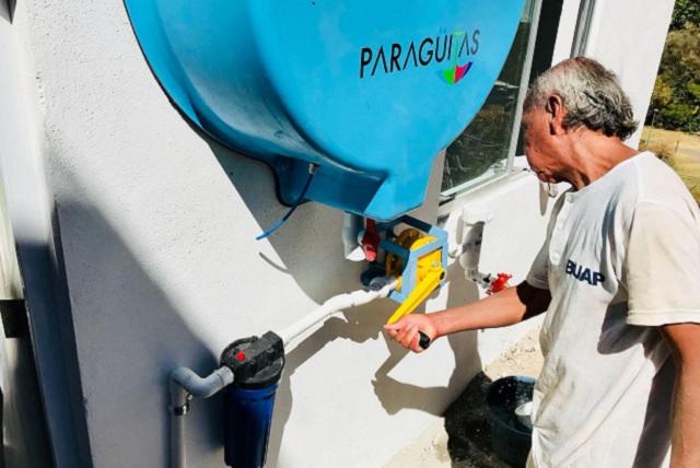Promueven marca de agua para financiar captadores en Puebla