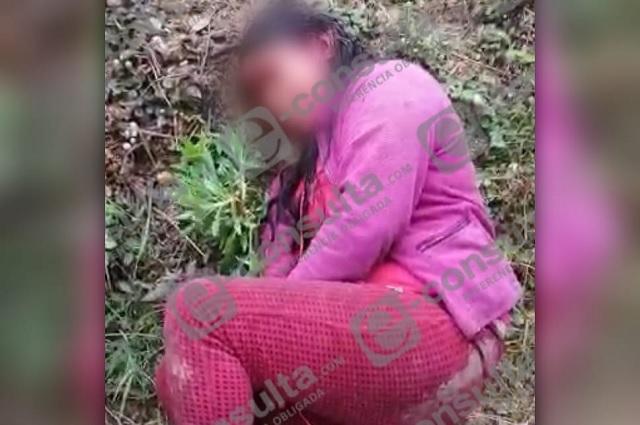 Mujer es agredida con machete en Chiconcuautla; buscan al agresor