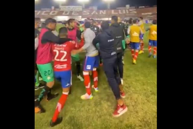 Liga MX: racismo, agresiones y más durante el San Luis vs Santos