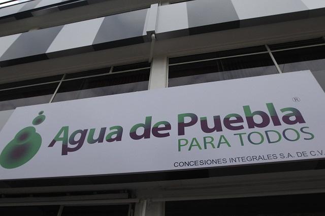 Atienden quejas de ASA si retira amparos, ofrece Agua de Puebla