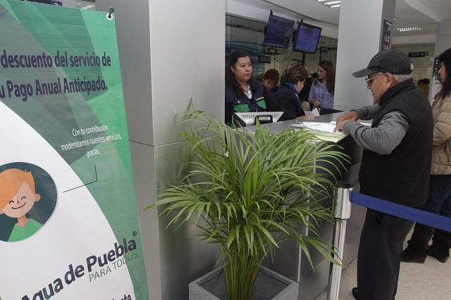Agua de Puebla encapsulará deudas si no fallan pagos mensuales