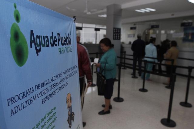 Amplían horarios en módulos de atención de Agua de Puebla