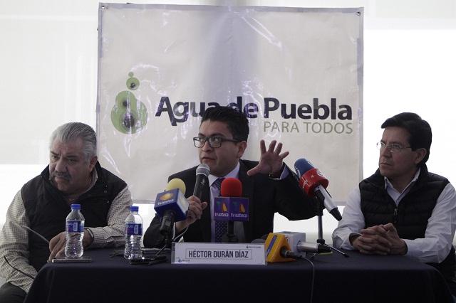 Adeudos no desaparecen y pueden ser reactivados: Agua de Puebla