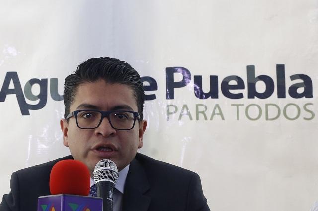 Respalda director de Agua de Puebla corrección al artículo 12