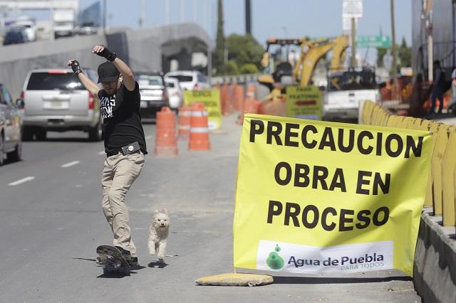 Agua de Puebla busca justificar inversión no cumplida, acusan
