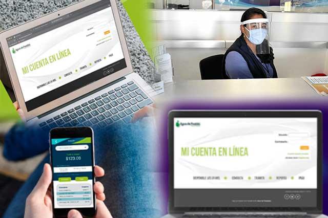 Agua de Puebla moderniza su sistema comercial
