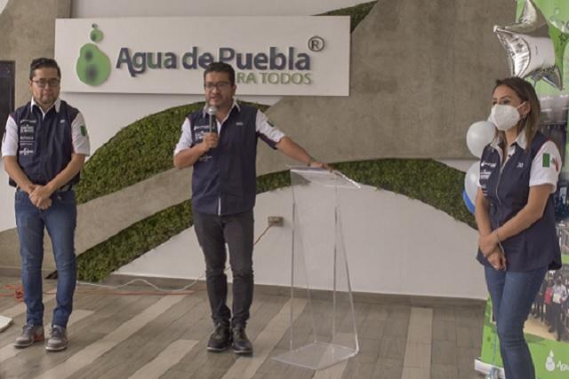Agua de Puebla tiene el sistema comercial más moderno del país