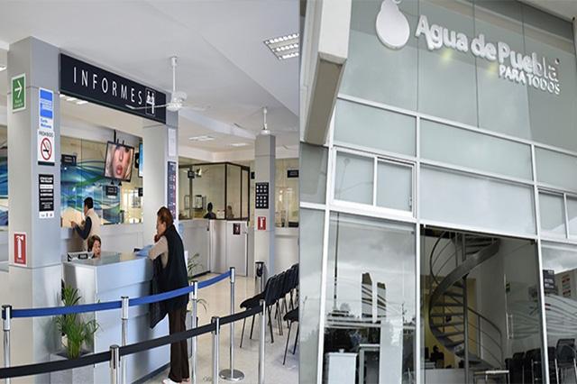 Por pago anual anticipado, 10% de descuento: Agua de Puebla