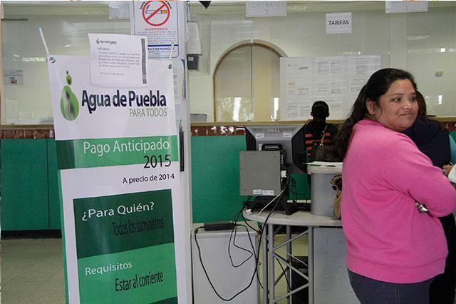 Por ley, sólo el Congreso puede bajar tarifas de agua en Puebla
