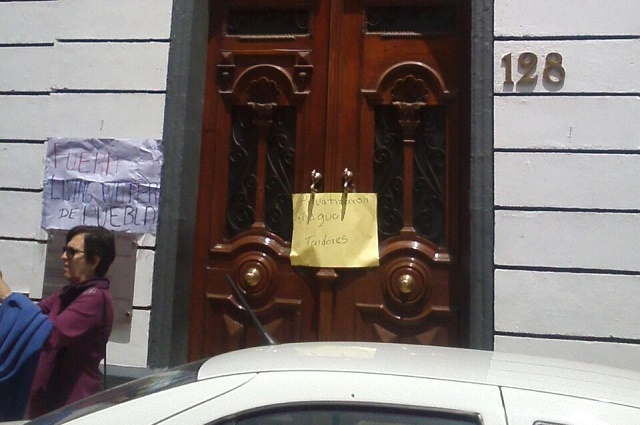 Protestan contra la privatización del agua en Puebla
