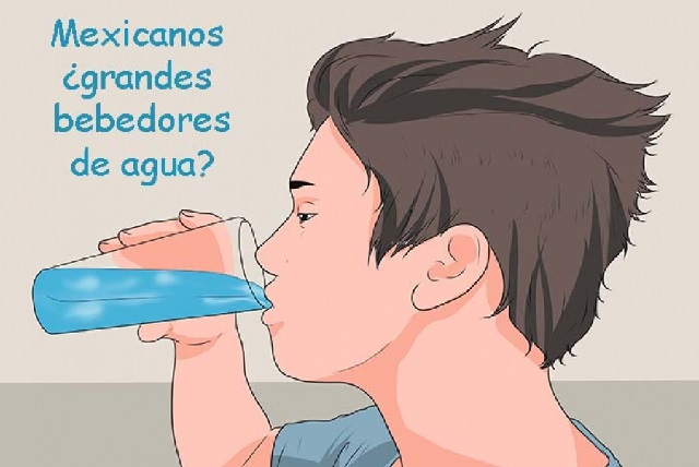 Agua simple, la que más beben los mexicanos