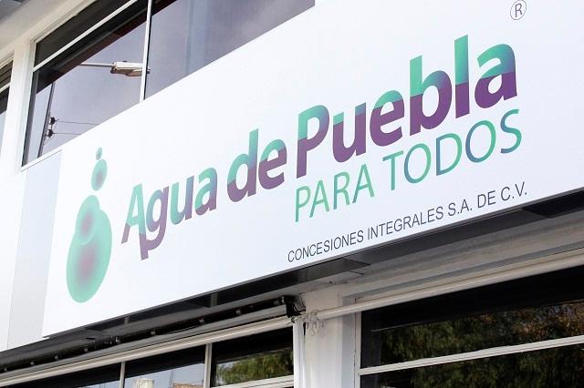 Señala Agua de Puebla que no ha recibido notificación del INE por spot
