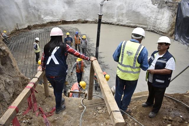 Agua de Puebla rehabilita sistema de rebombeo Stanley