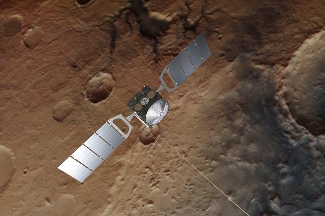 Lago de agua líquida amplia posibilidad de vida en Marte