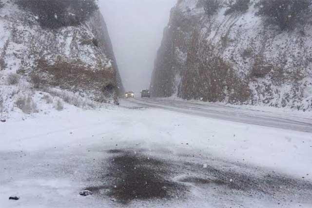 Alerta SMN por caída de nieve en zonas montañosas de Puebla