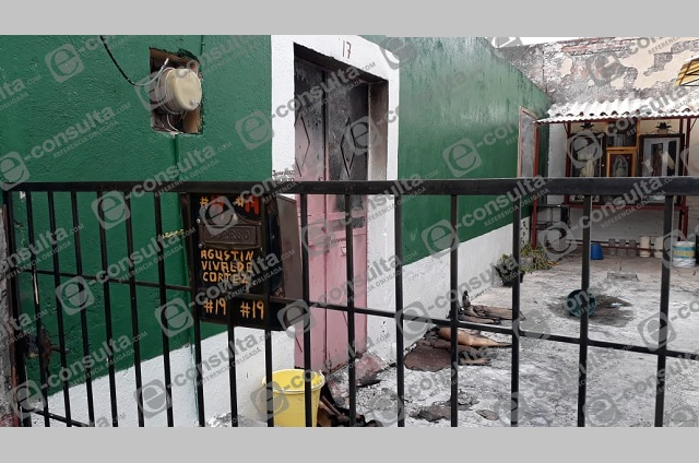 Abuelito muere en Atlixco tras el incendio de su vivienda
