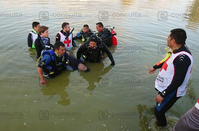 Descubren cuerpo envuelto en plástico en canal de Valsequillo