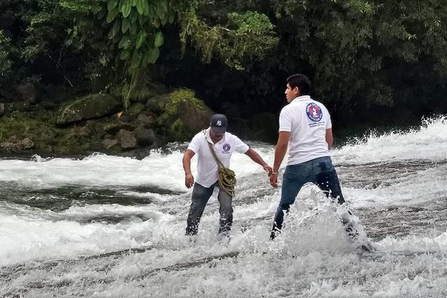 Muere ahogado niño de 12 años en río de Cuetzalan