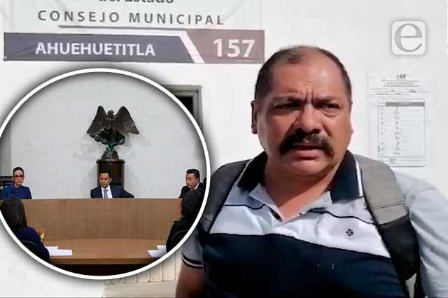 No será edil candidato sin registro que ganó Ahuehuetitla: TEPJF