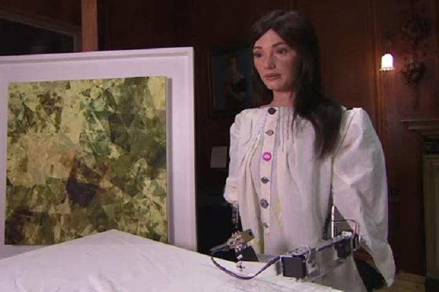 Primer robot artista que expondrá sus cuadros en Oxford
